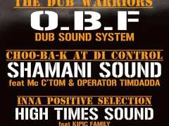 photo de SOUND SYSTEM PON TOP - OBF & SHAMANI SOUND & HIGH TIMES